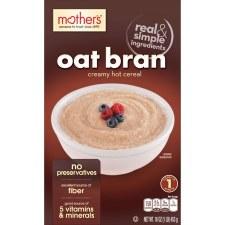 Mother's 100% Natural Oat Bran, 16 oz.