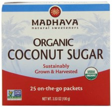 Madhava Organic Coconut Sugar 25 count