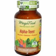 MegaFood Alpha-Teen, 90 tablets