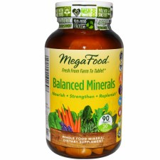 MegaFood Balanced Minerals, 90 tablets