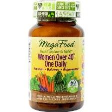 MegaFood Women Over 40 One Daily, 60 tablets