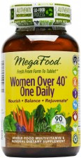 MegaFood Women Over 40 One Daily, 90 tablets