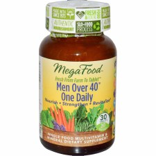 MegaFood Men Over 40 One Daily, 30 tablets