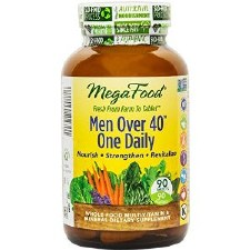 MegaFood Men Over 40 One Daily, 90 tablets