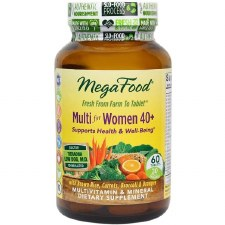 MegaFood Womens Multi 40+, 60 tablets
