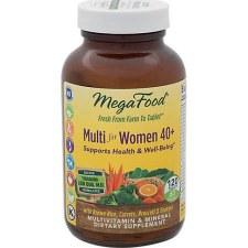MegaFood Womens Multi 40+, 120 tablets