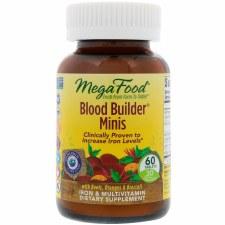 MegaFood Blood Builder Minis, 60 tablets