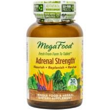 MegaFood Adrenal Strength, 30 tablets