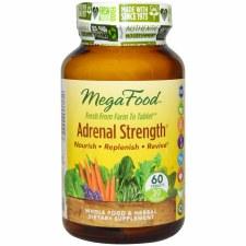 MegaFood Adrenal Strength, 60 tablets