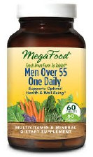 MegaFood Mens 55+ One Daily, 60 tablets