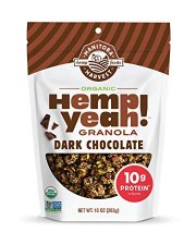 Manitoba Harvest Dark Chocolate Hemp Yeah! Granola, 10 oz.