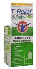 T-Relief Mobility Arthritis Pain Relief Tablets, 100 tablets