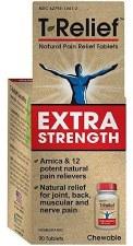 MediNatura T-Relief Extra Strength Tablets, 90 tablets