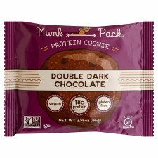 Munk Pack Double Dark Chocolate Protein Cookie, 2.96 oz.