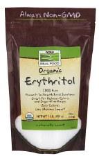 NOW Erythritol, 16 oz.
