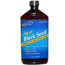 North American Herb & Spice Black Seed Oil, 12 oz.