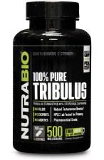 NutraBio 100% Pure Tribulu Terrestis 500mg, 150 capsules