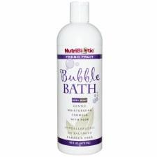 NutriBiotic Fresh Fruit Non-Soap Bubble Bath, 16 oz.