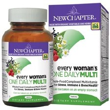 New Chapter Every Women's One Daily MultiVitamin, 72 tablets