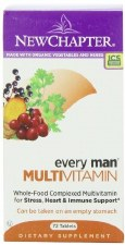 New Chapter Every Man Advanced Multi, 72 tablets