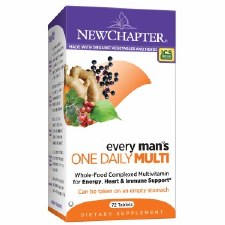 New Chapter Every Man's One Daily Multi, 72 tablets