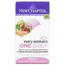New Chapter 40+ Every Woman's One Daily Multi, 24 tablets