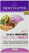 New Chapter 40+ Every Woman's One Daily Multi, 47 tablets