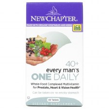 New Chapter 40+ Every Man's One Daily Multi, 48 tablets