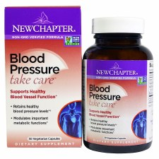 New Chapter Blood Pressure Take Care, 30 vegetarian capsules