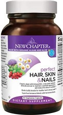 New Chapter Hair, Skin & Nails, 60 vegan capsules