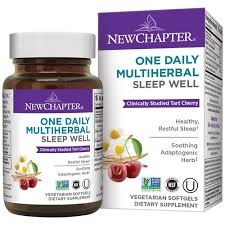 New Chapter One Daily Multiherbal Sleep Well, 30 soft gels
