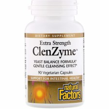 Natural Factors ClenZyme, 90 vegetarian capsules