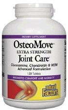 Natural Factors OsteoMove Extra Strength Joint Care, 120 tablets