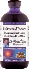 Natural Factors RxOmega-3 Factors, 8 oz.