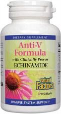 Natural Factors Anti-V Formula, 120 soft gels