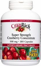 Natural Factors CranRich, bonus pack, 180 capsules