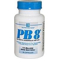 Nutrition Now PB8 Vegetarian Formula, 60 vegetarian capsules