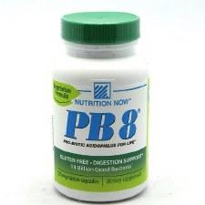 Nutrition Now PB8 Vegetrian Formula, 120 vegetarian capsules