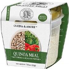Cucina & Amore Artichoke & Pepper Quinoa Meal, 7.9 oz.