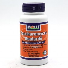 NOW Foods Saccharomyces Blardii, 60 vegetarian Capsules