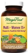 MegaFood Womens Multi 55+, 120 tablets