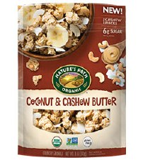 Nature's Path Organic GF Coconut Cashew Granola, 11 oz.