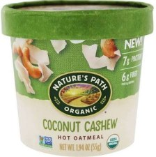 Nature's Path Coconut Cashew Oatmeal Cup, 1.94 oz.