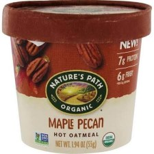 Nature's Path Maple Pecan Oatmeal Cup, 1.94 oz.