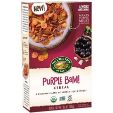 Nature's Path Organic Purple Bam Cereal, 10.6 oz.