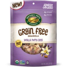 Nature's Path Grain Free Vanilla Poppy Seed Granola, 8 oz.