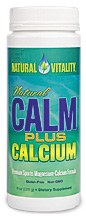 Natural Vitality Natural Calm Plus Calcium, 8 oz.