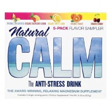 Natural Vitality Natural Calm 5 Assorted Flavors Sampler