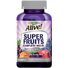 Nature's Way Alive! Super Fruits Complete Women's 50+ Multi, 60 gummies