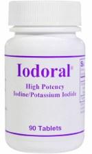 Optimox Iodoral, 90 tablets